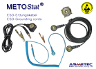 Metostat ESD grounding cords