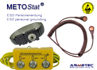 Metostat ESD-personal grounding
