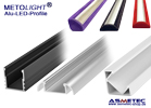 METOLIGHT LED-Alu-Profile