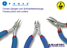 Tronex ESD cutters and pliers