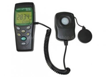 Light Meter TM 209 - for LED and all visible light source