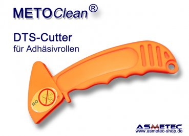 Cutter for adhesive rolls