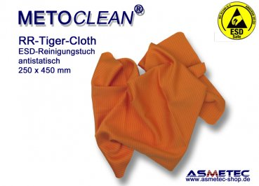 ESD-Wischtuch Tiger cloth - www.asmetec-shop.de