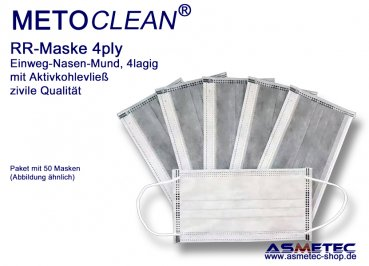 METOCLEAN face mask 4ply
