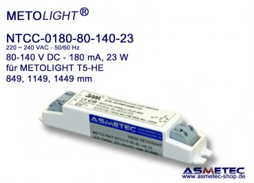 LED-driver Metolight NTCC-180-80-140