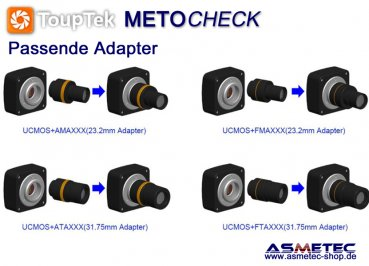 Touptek USB-camera UCMOS, 9MP - www.asmetec-shop.de