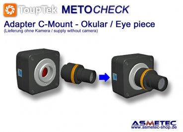 ToupTek FMA050, adapter C-Mount - www.asmetec-shop.de
