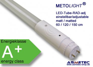 METOLIGHT LED-Tube, adjustable sensor, 60 cm, 1000l, - www.asmetec-shop.de