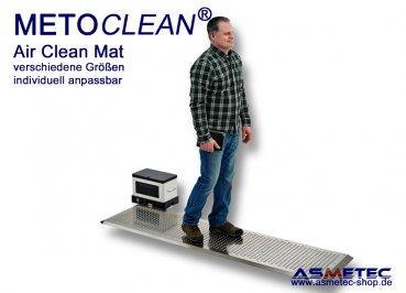 METOCLEAN Air Clean Mat - Air Walkmats for a cleaner, safer environment