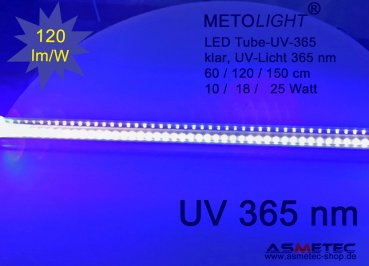 LED Röhre UV 365 nm