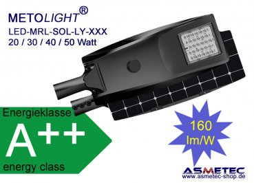 Metolight LED-Street light MRL-ST10030, 30 Watt - www.asmetec-shop.de