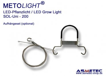 Metolight Growlight Sol-Uni-Hook-Set