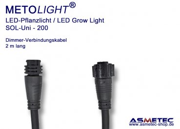 Metolight Growlight Sol-Uni, Dimmer link-cable, 2 m long
