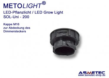 Metolight Growlight Sol-Uni-Cap M16M