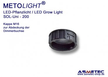 Metolight Growlight Sol-Uni-Cap M16F