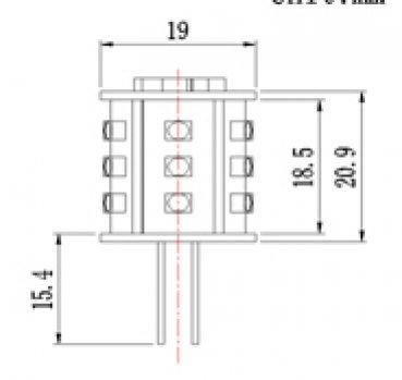asmetec shop led lichttechnik und techn produkte led einsatz g4 12 volt 2 6 watt kaltwei. Black Bedroom Furniture Sets. Home Design Ideas