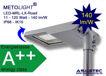 Metolight LED-Street lamp MRL-LX-24, 45-76W - www.asmetec-shop.de