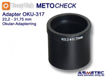 Kamera Adapter Okularadapter 23.2 auf 31,75 mm, 108017