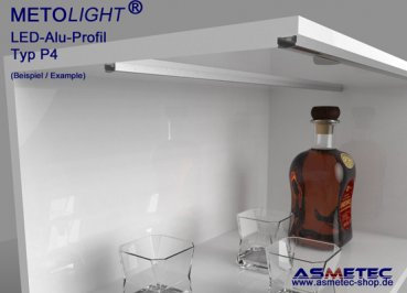 Aluminium-LED-Profile - www.asmetec-shop.de