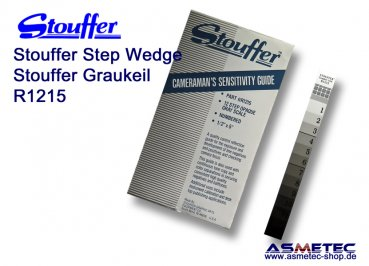 Stouffer R1215C, 12 step reflection guide, increment 0.15, calibrated