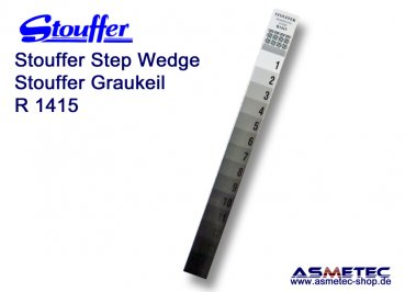 Stouffer R1415, 14 step reflection guide, increment 0.15