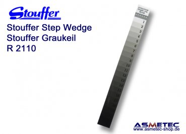 Stouffer R2110C, 21 step reflection guide, increment 0.10