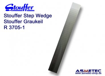Stouffer R3705-1/2, 37 step reflection scanner guide, increment 0.05