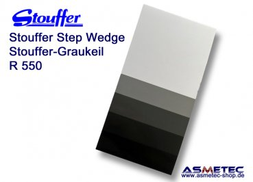 Stouffer R550, 5 step reflection guide, increment 0.50