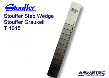 Stouffer T1015, 10-step transmission guide, increment 0.15