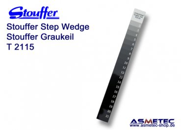 Stouffer T2115, 21-step transmission guide, increment 0.15