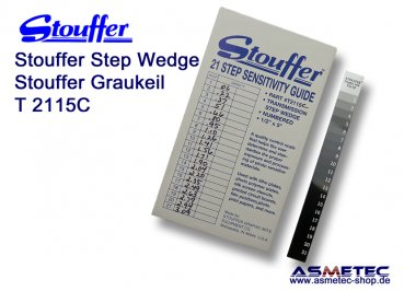 Stouffer T2115C, 21 step transmission guide,  increment 0.15, calibrated