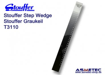 Stouffer T3110, 31 step transmission guide, increment 0.10