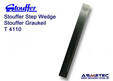 Stouffer T4110, 41 step transmission guide, increment 0.10