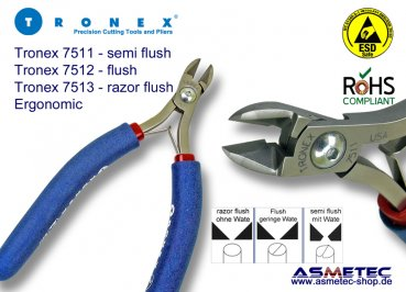 Tronex 7511 - Large Oval Cutter, ergonomic - Semi-Flush