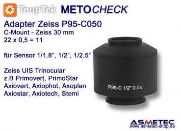Kamera Adapter Zeiss TV-Adapter P95-C050, 0,5x