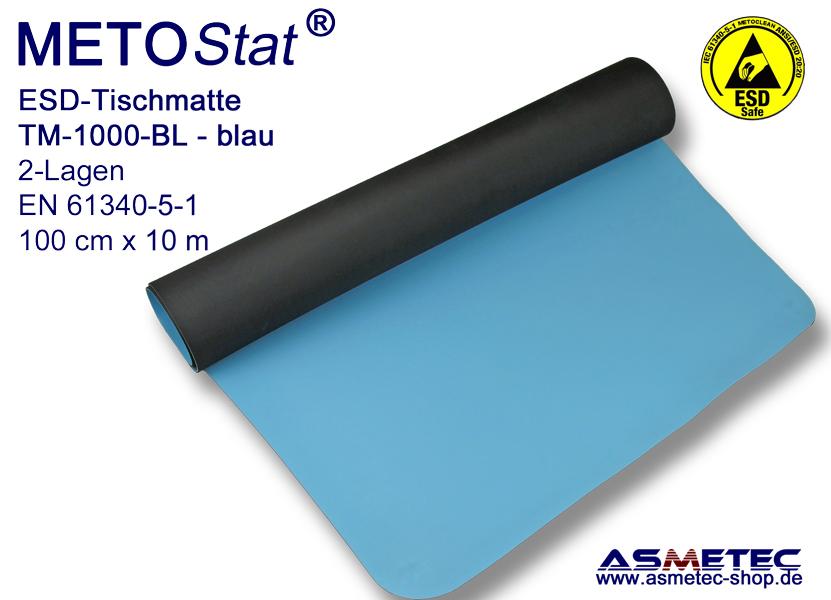 Superb Esd Table Mat Tm 1000 Bl Blue Roll 100 Cm Wide 10 M Long Download Free Architecture Designs Scobabritishbridgeorg