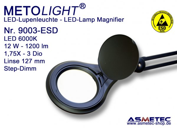 Metolight ESD LED Lupenleuchte 9003