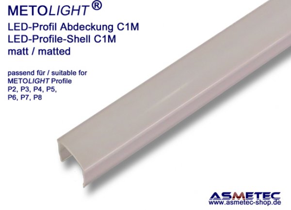 Aluminium-LED-Profile-Shell - www.asmetec-shop.de