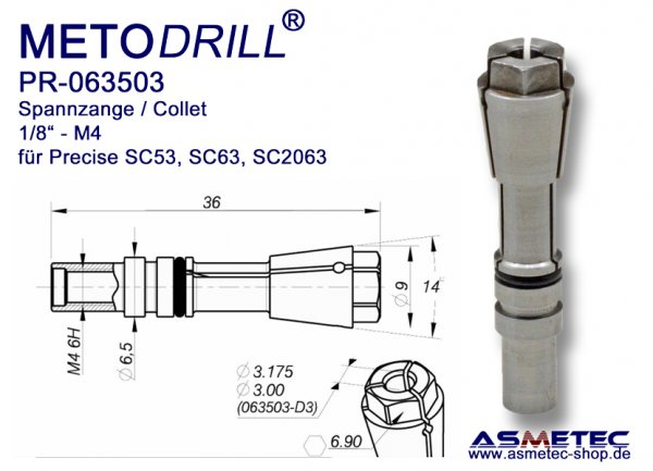 Collet PR-063503 - Precise routing SC-63