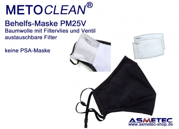 METOCLEAN replacement filter for Mask PM25VK