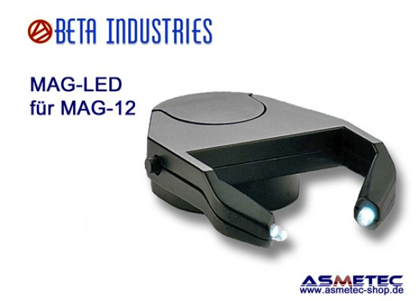 Beta-MAG-LED für MAG-12-Lupe - www.asmetec-shop.de