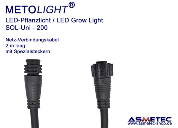 Metolight Growlight Sol-Uni, Power-Link-cable, 2 m long