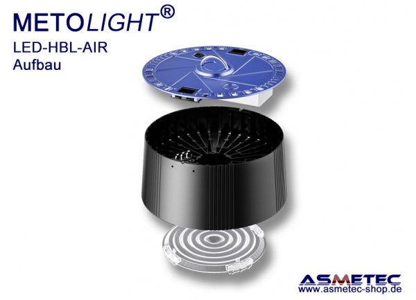Metolight LED Hallenleuchte HBL-AIR