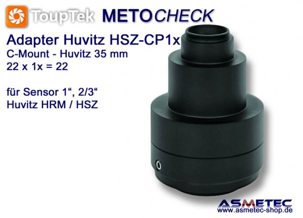 Huvitz TV-Adapter HSZ-CP1, adapter C-Mount - www.asmetec-shop.de