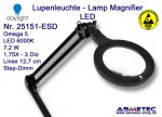 Daylight ESD LED Lamp Magnifier 25151 - www.asmetec-shop.de