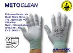 "METOCLEAN Clean room gloves ""Topfit-ESD-NC"", size S"